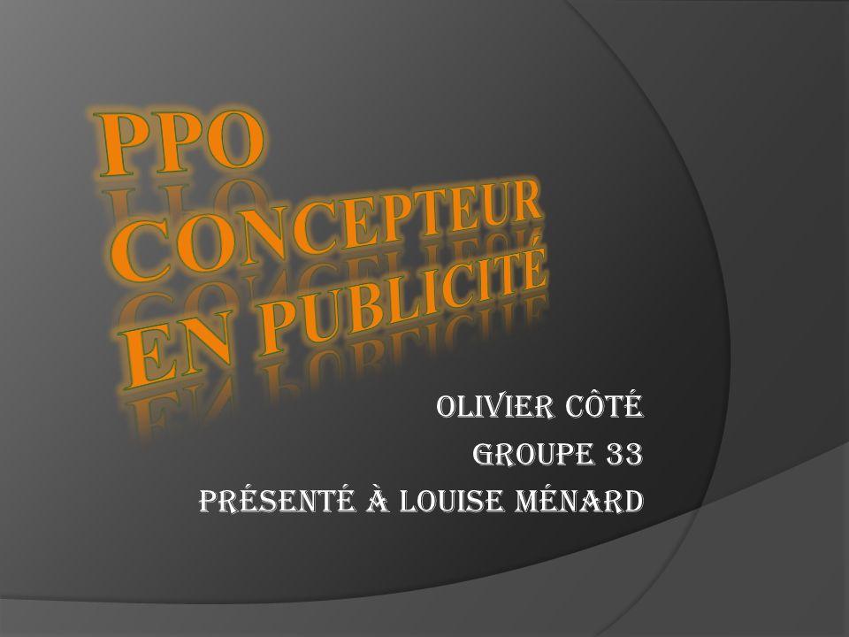 PPO Concepteur en Publicité