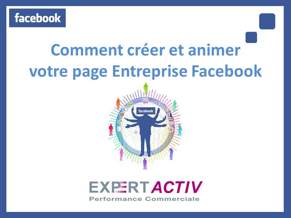 Comment créer et animer votre page Entreprise Facebook