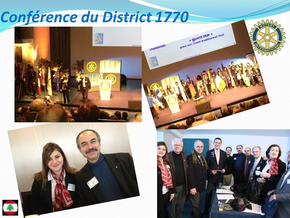 Conférence du District 1770