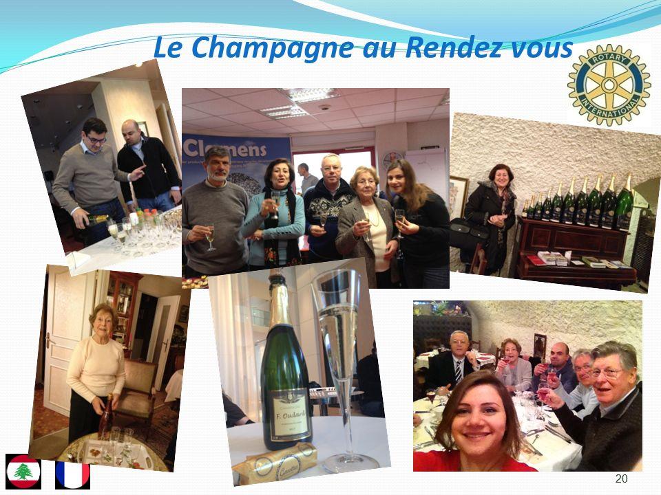 Le Champagne au Rendez vous