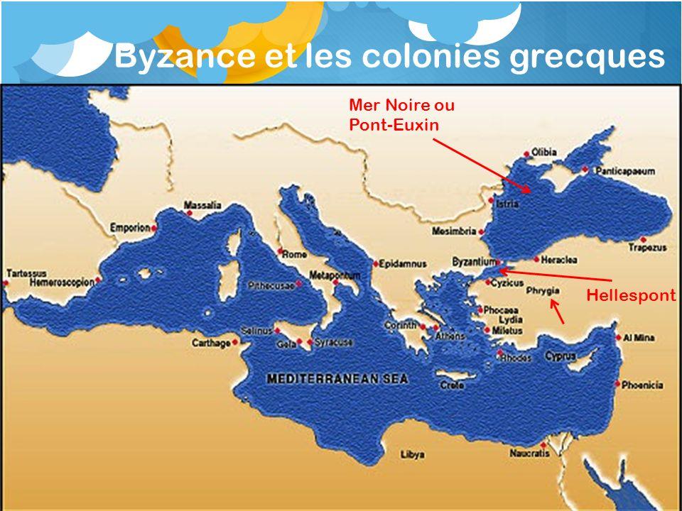 Byzance et les colonies grecques