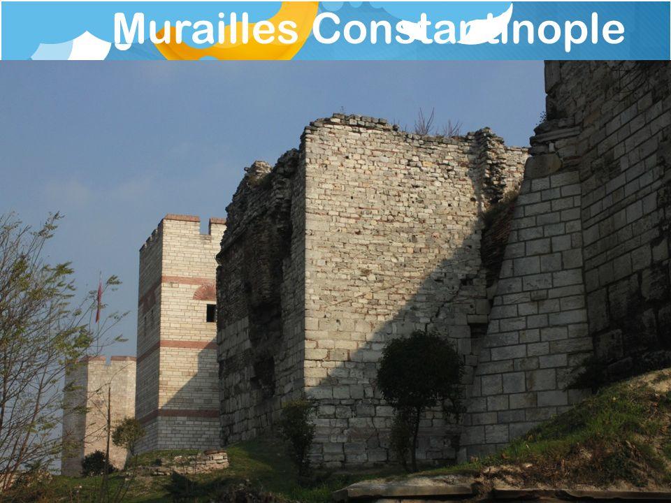 Murailles Constantinople