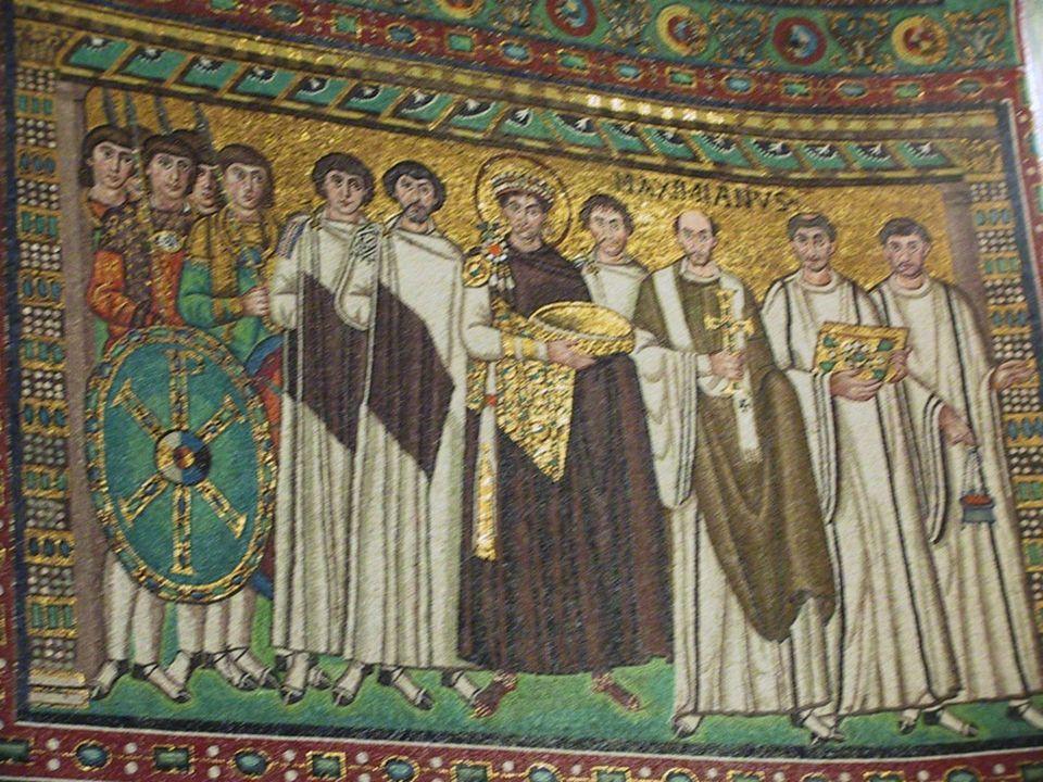 Basilique saint-Vital, Ravenne, 6e s.