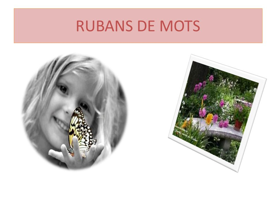 RUBANS DE MOTS