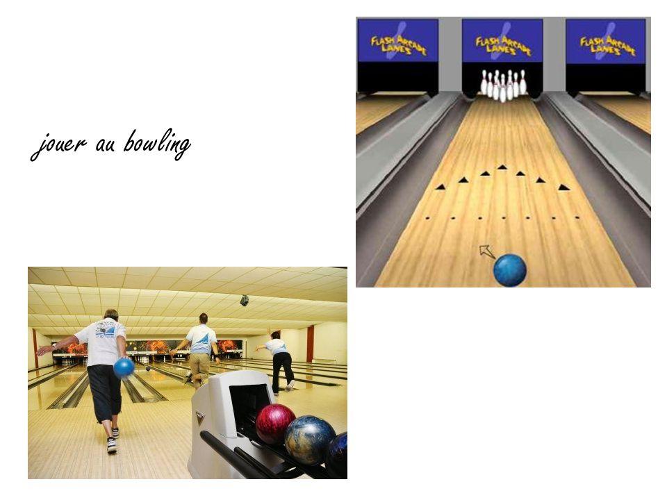 jouer au bowling