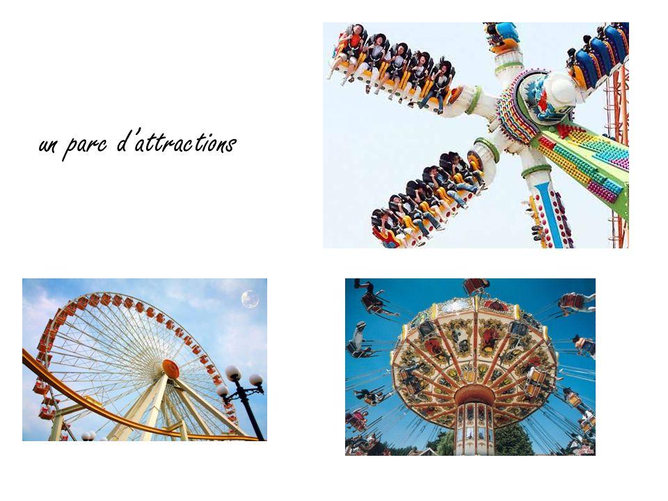un parc d'attractions
