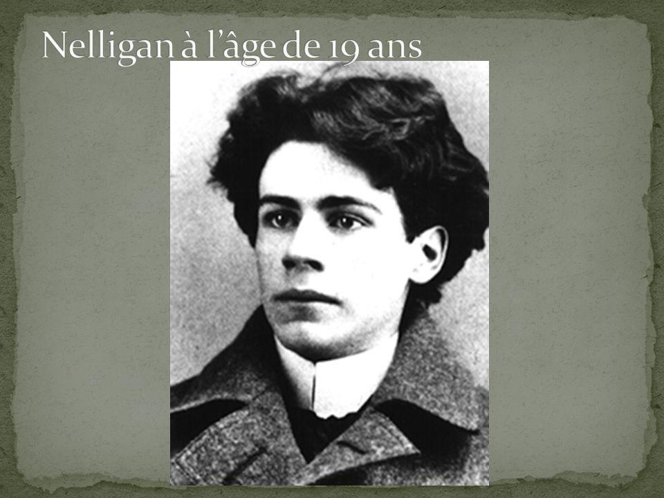 Nelligan à l'âge de 19 ans