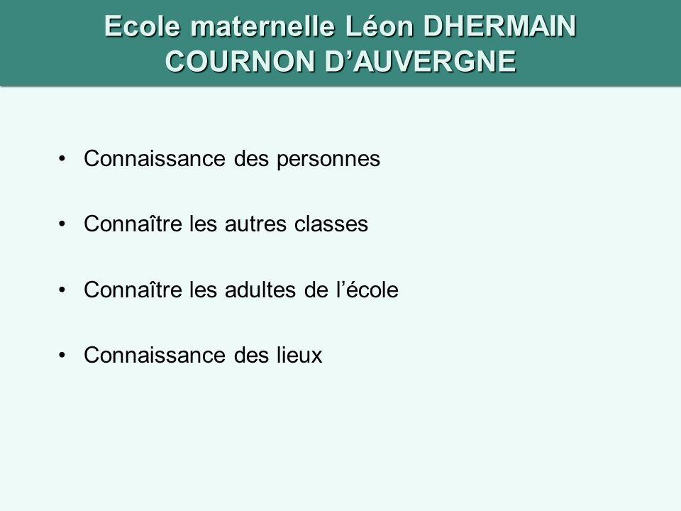 Ecole maternelle Léon DHERMAIN COURNON D'AUVERGNE