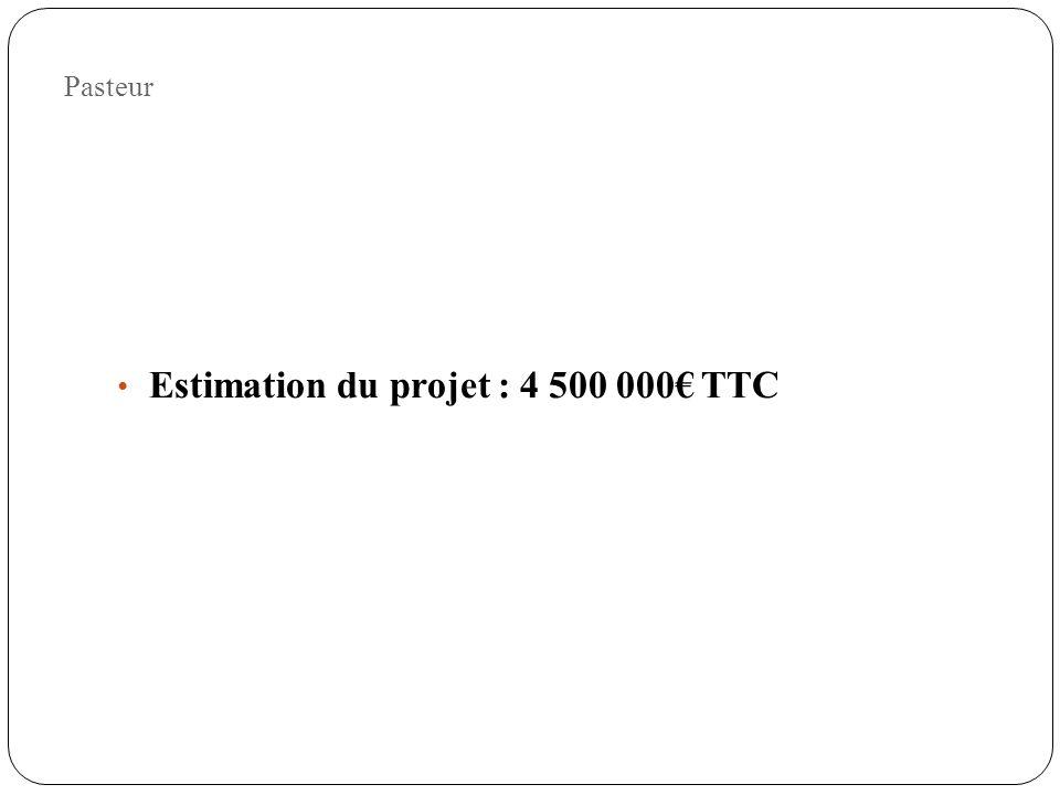 Estimation du projet : 4 500 000€ TTC