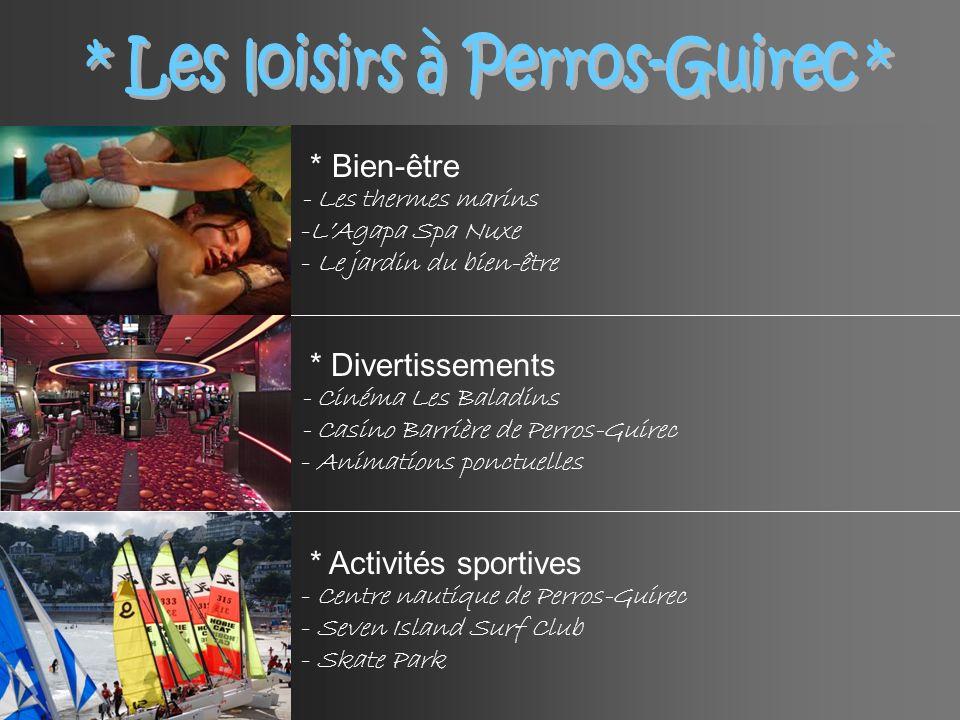 * Les loisirs à Perros-Guirec *