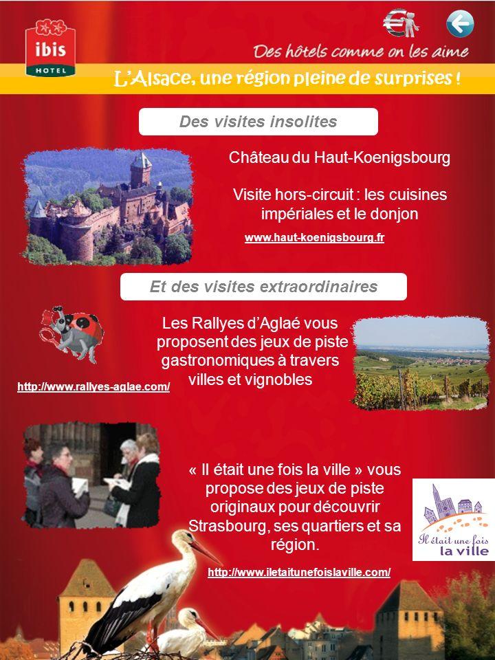 L'Alsace, une région pleine de surprises !