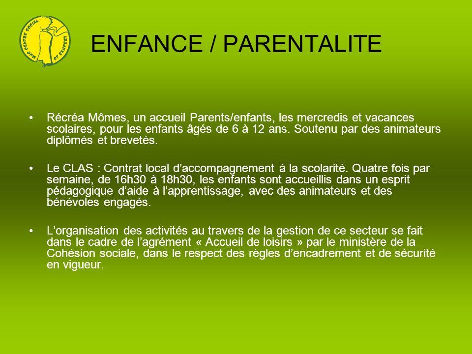 ENFANCE / PARENTALITE