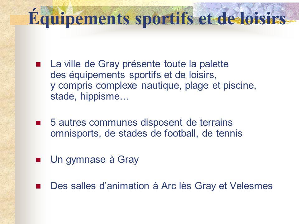 Équipements sportifs et de loisirs