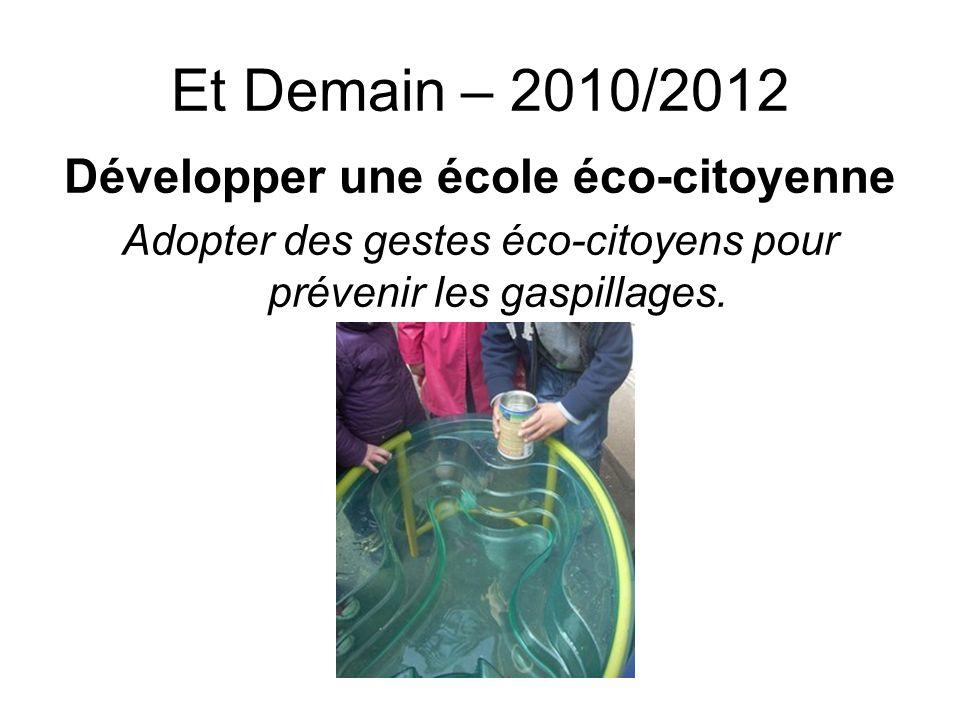 Développer une école éco-citoyenne