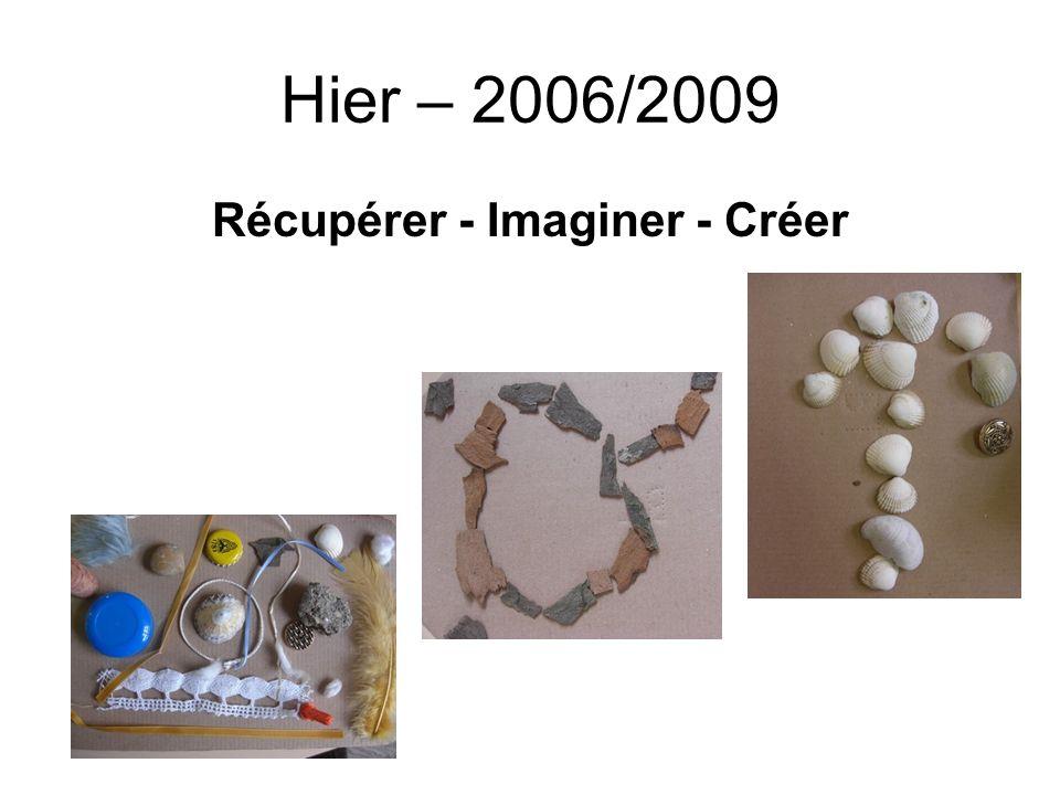 Récupérer - Imaginer - Créer