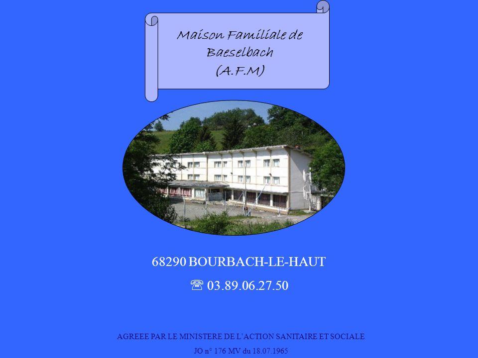 Maison Familiale de Baeselbach
