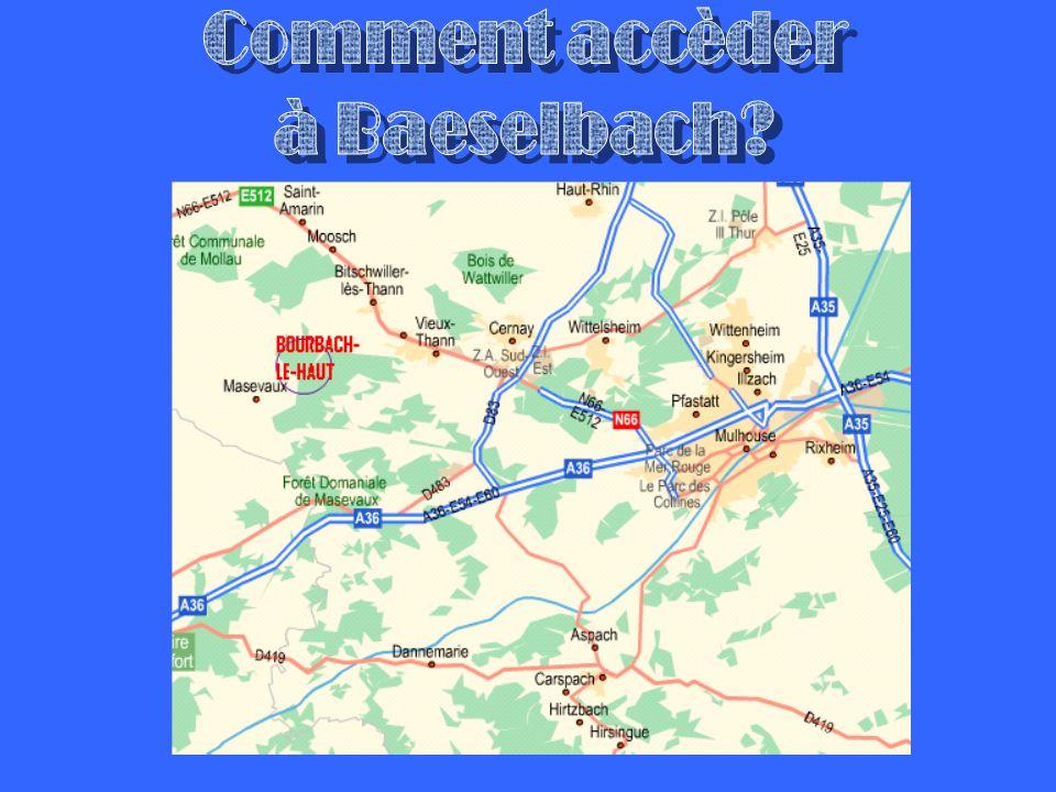 Comment accèder à Baeselbach