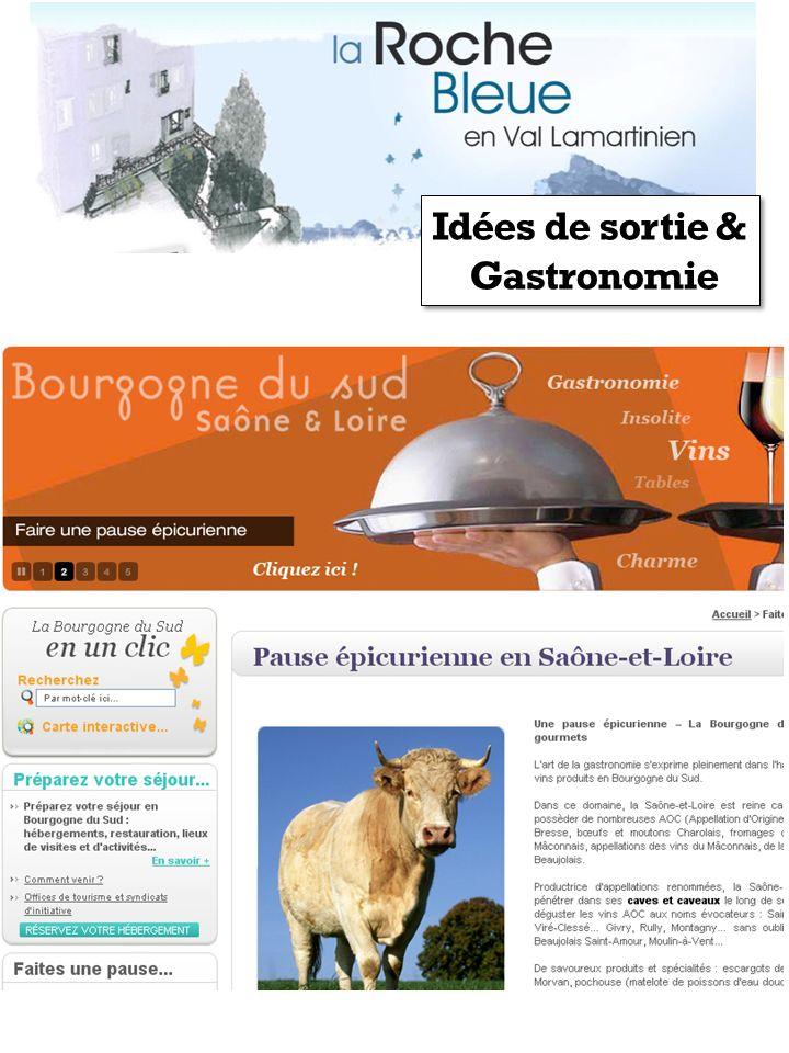 Idées de sortie & Gastronomie