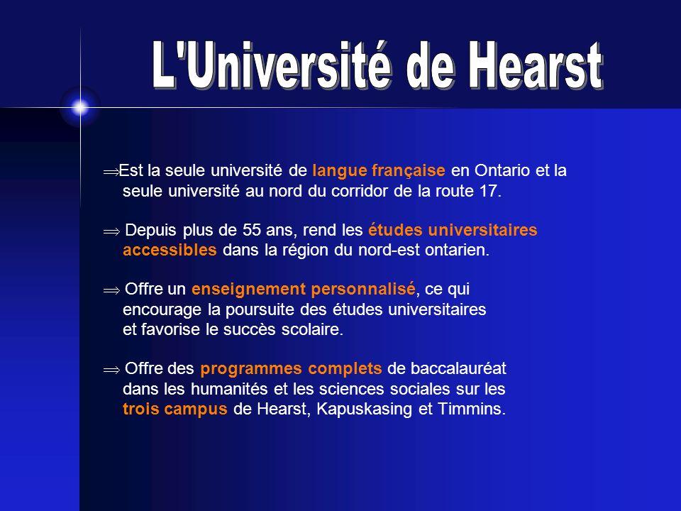 L Université de Hearst