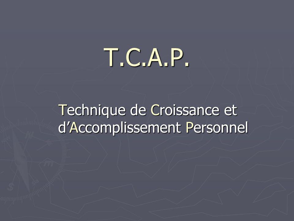 Technique de Croissance et d'Accomplissement Personnel