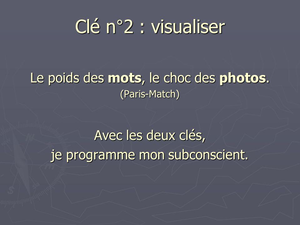 Clé n°2 : visualiser Le poids des mots, le choc des photos.