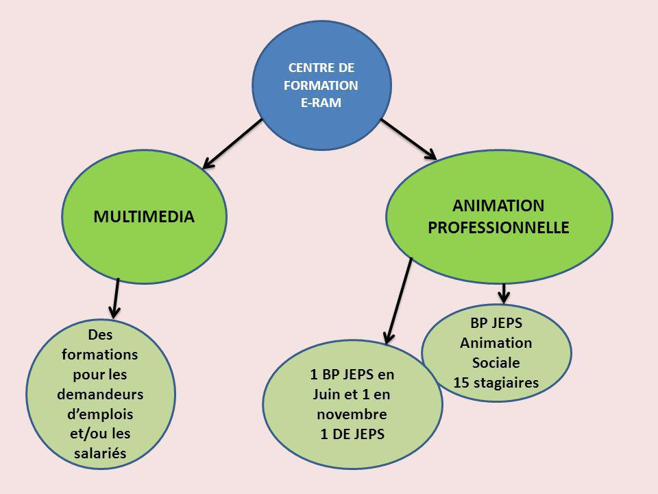 MULTIMEDIA ANIMATION PROFESSIONNELLE