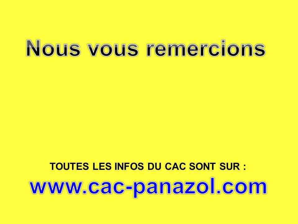 Nous vous remercions www.cac-panazol.com