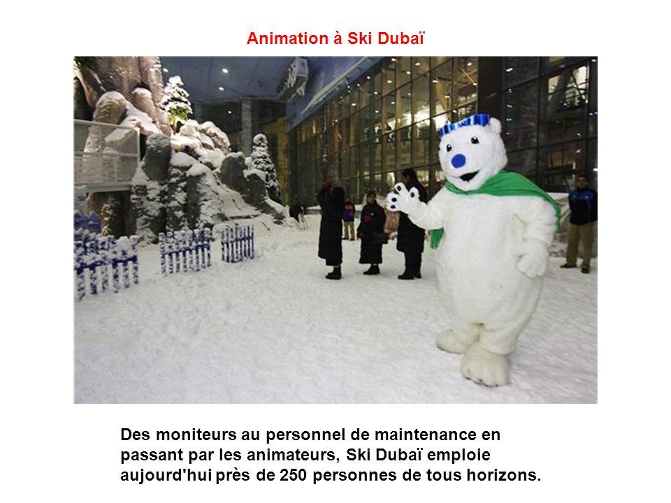 Animation à Ski Dubaï