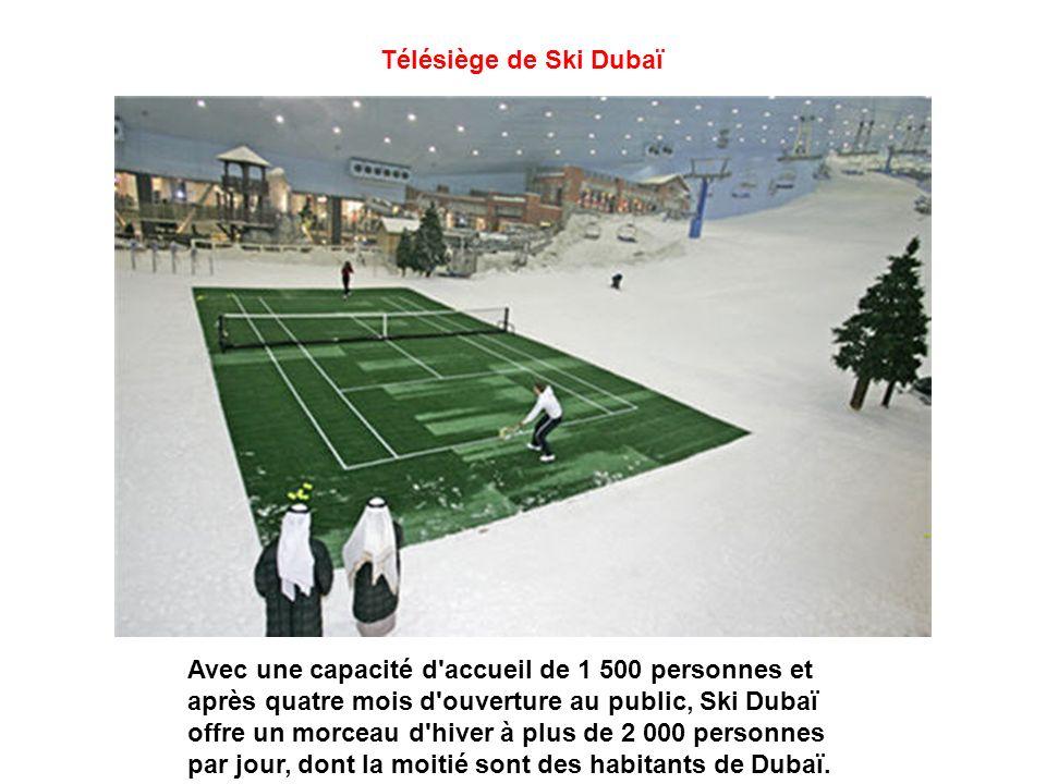 Télésiège de Ski Dubaï