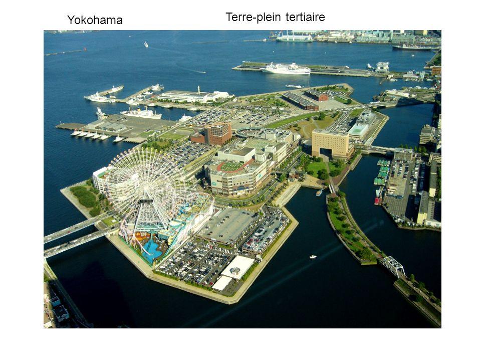 Yokohama Terre-plein tertiaire