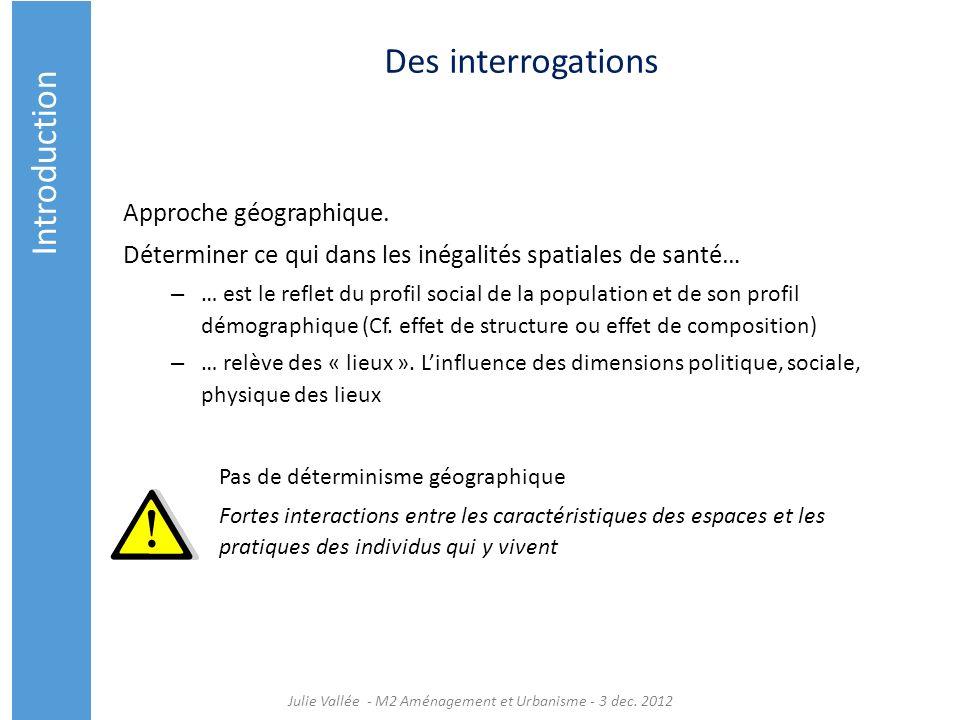 Julie Vallée - M2 Aménagement et Urbanisme - 3 dec. 2012