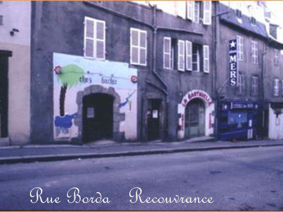 Rue Borda Recouvrance