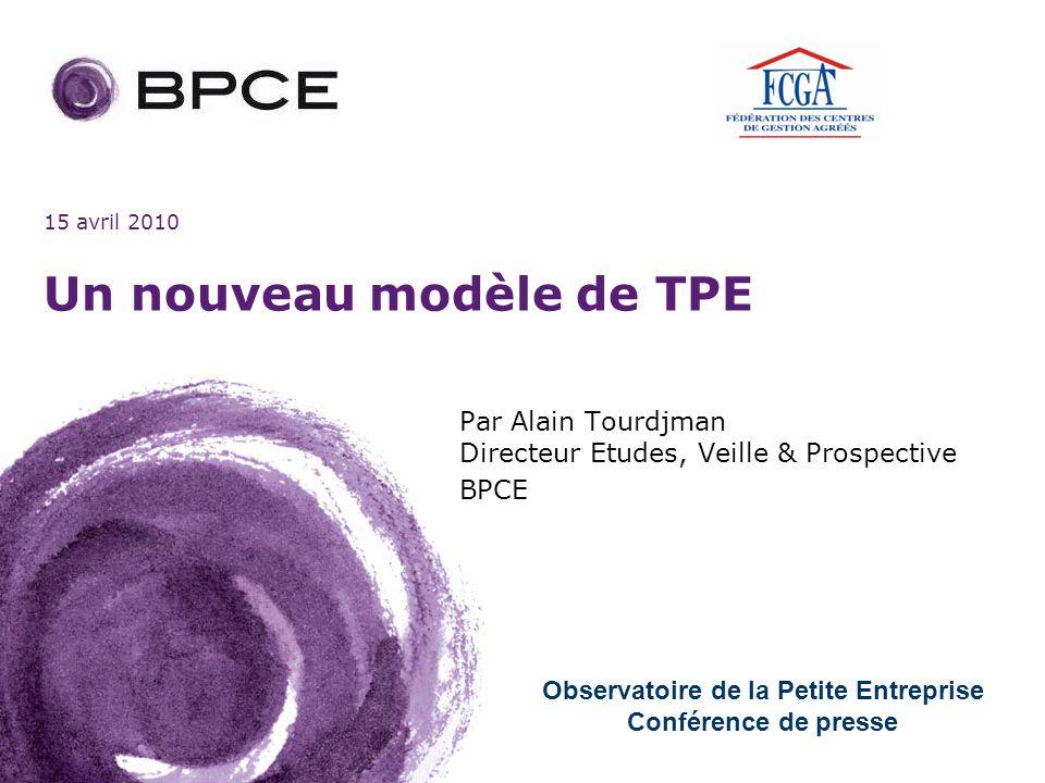 Un nouveau modèle de TPE
