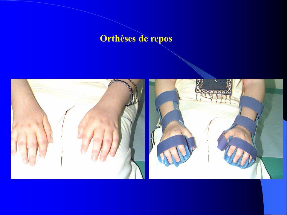 Orthèses de repos