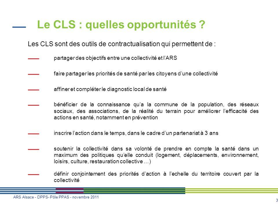 Le CLS : quelles opportunités