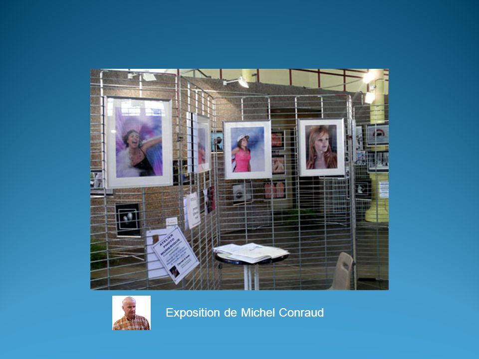 Exposition de Michel Conraud
