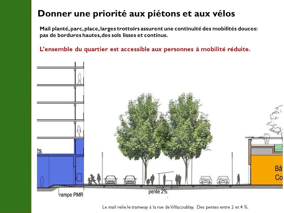 Donner une priorité aux piétons et aux vélos