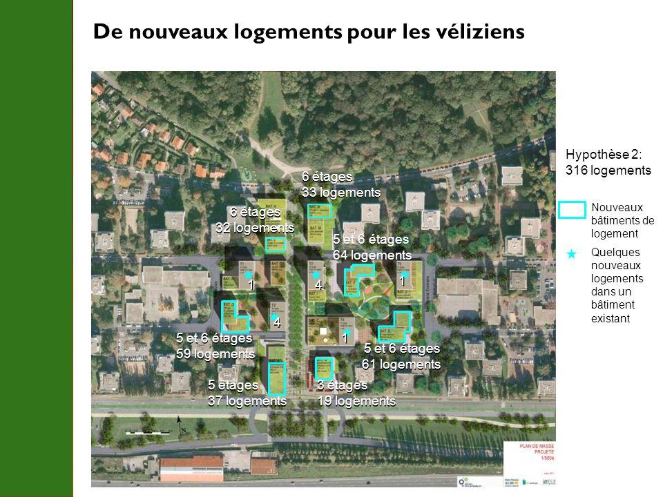 De nouveaux logements pour les véliziens