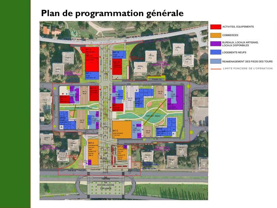 Plan de programmation générale