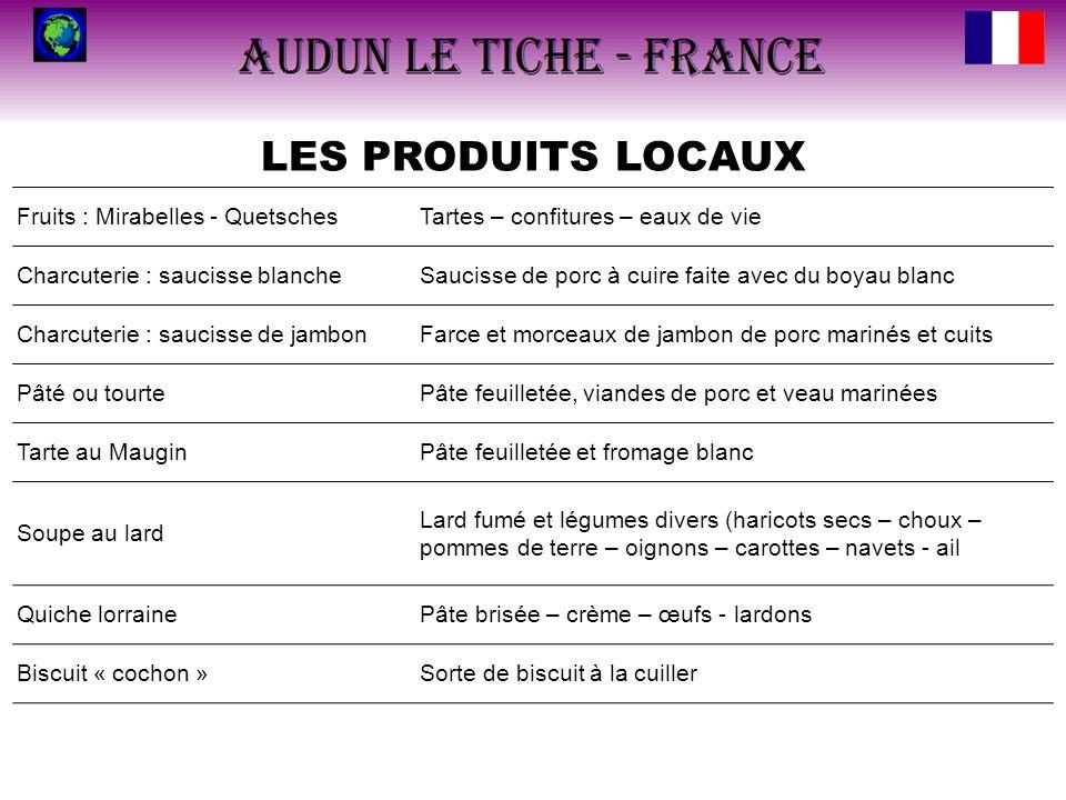 LES PRODUITS LOCAUX Fruits : Mirabelles - Quetsches