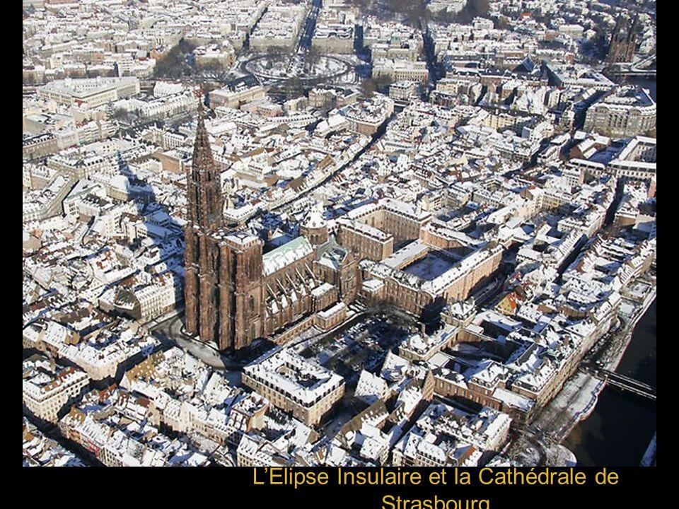 L'Elipse Insulaire et la Cathédrale de Strasbourg
