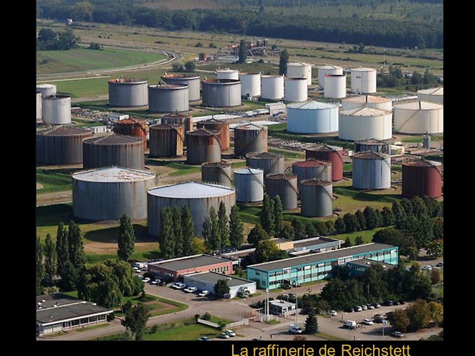 La raffinerie de Reichstett