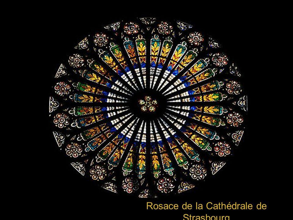 Rosace de la Cathédrale de Strasbourg