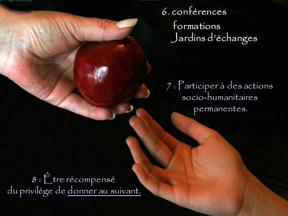 6. conférences formations Jardins d'échanges