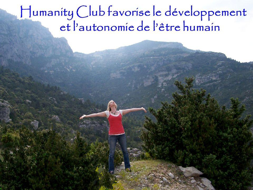 Humanity Club favorise le développement