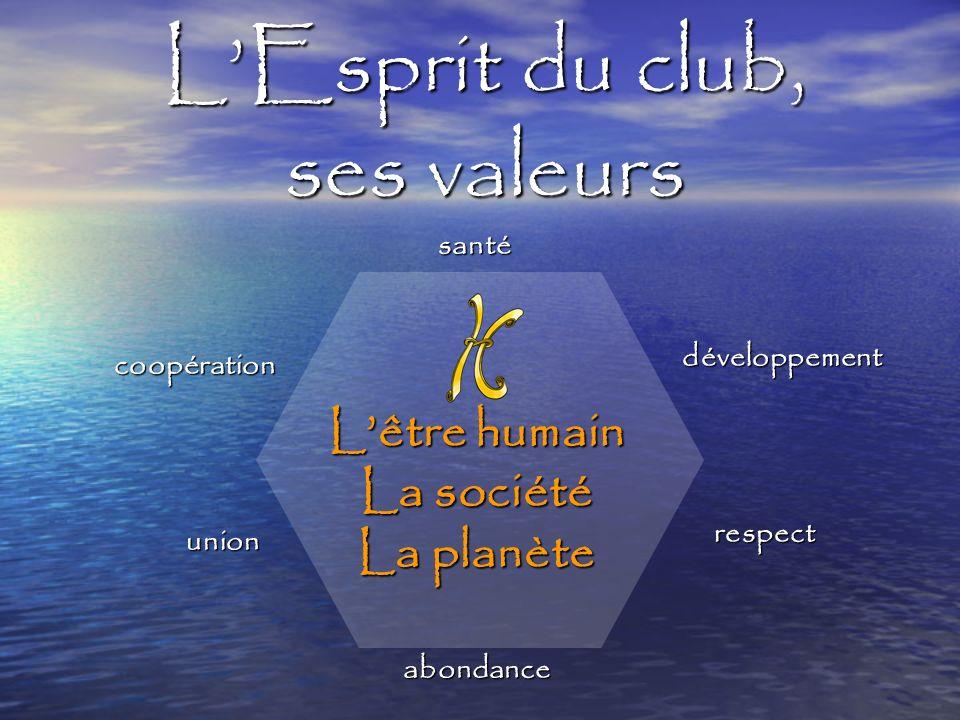 L'Esprit du club, ses valeurs