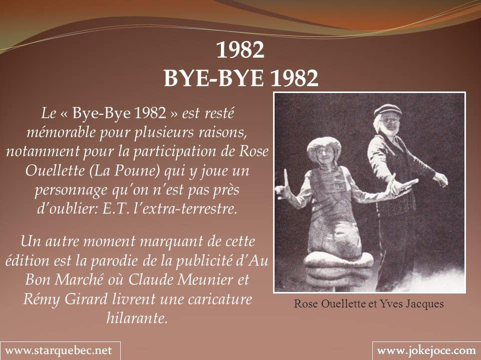 Rose Ouellette et Yves Jacques