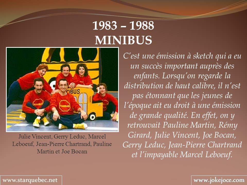 1983 – 1988 MINIBUS.