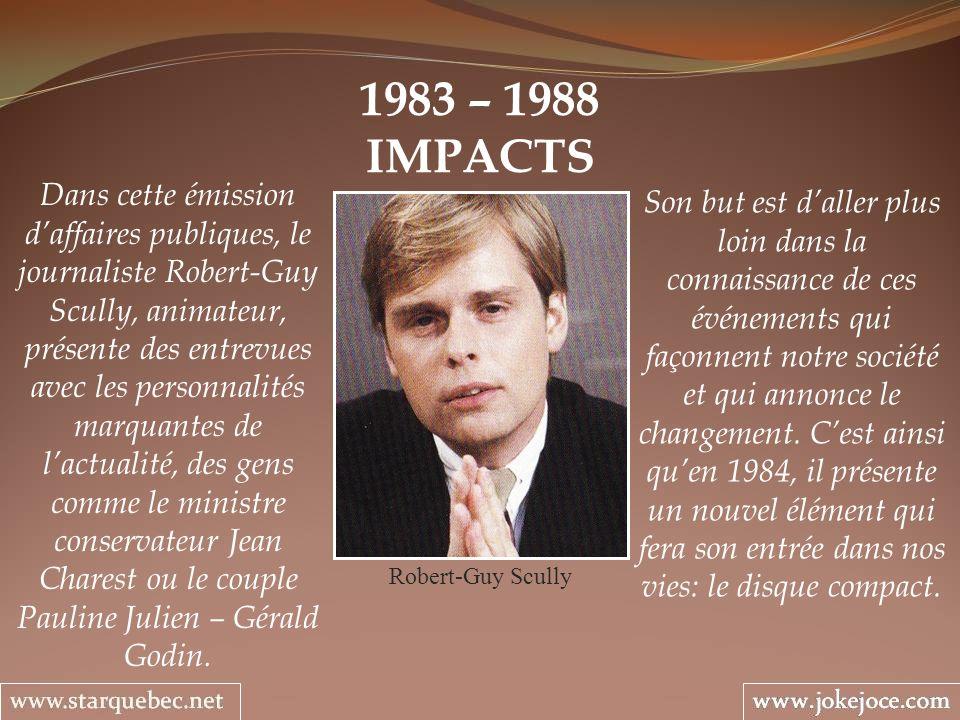 1983 – 1988IMPACTS.