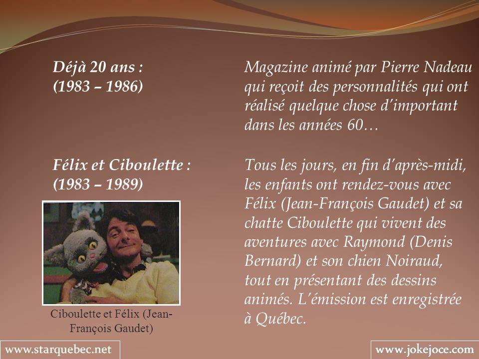 Ciboulette et Félix (Jean-François Gaudet)